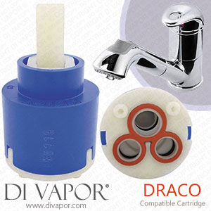 Abode Draco Pull Out Kitchen Tap Cartridge
