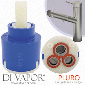 Abode Pluro 35mm Single Lever Kitchen Tap Cartridge