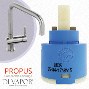 Abode Propus Stainless Steel 35mm Tap Cartridge