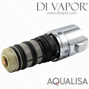 Aqualisa 910075 High Pressure Thermostatic Cartridge with Knob Handle - AQUALISA-910075