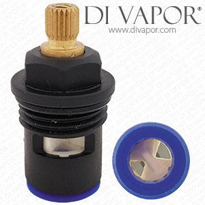 Black Plastic Ceramic Disc Cartridge