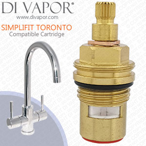B&Q Simplifit Toronto Tap Cartridge Spare