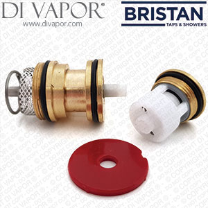 Bristan 00621143 Piston Housing - Hot - used in 1901, Art Deco, Chilli, Prism and Quest Valves
