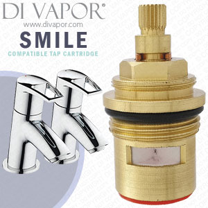Bristan Smile Bath Hot Tap Cartridge Compatible Spare BRS9095