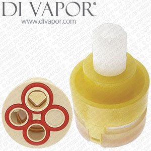 Yellow 3 Way Diverter Cartridge Bossini Cristina