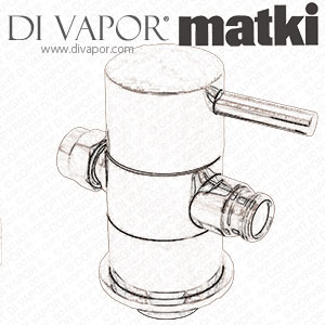 Matki CS-DIVERTER Shower Diverter Valve