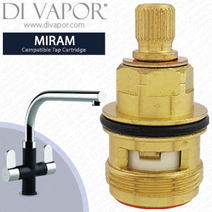 Clearwater Miram Hot Tap Cartridge Compatible Spare CW-MR15