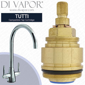 Clearwater Tutti Hot Tap Cartridge with Collar Compatible Spare CW-TT67