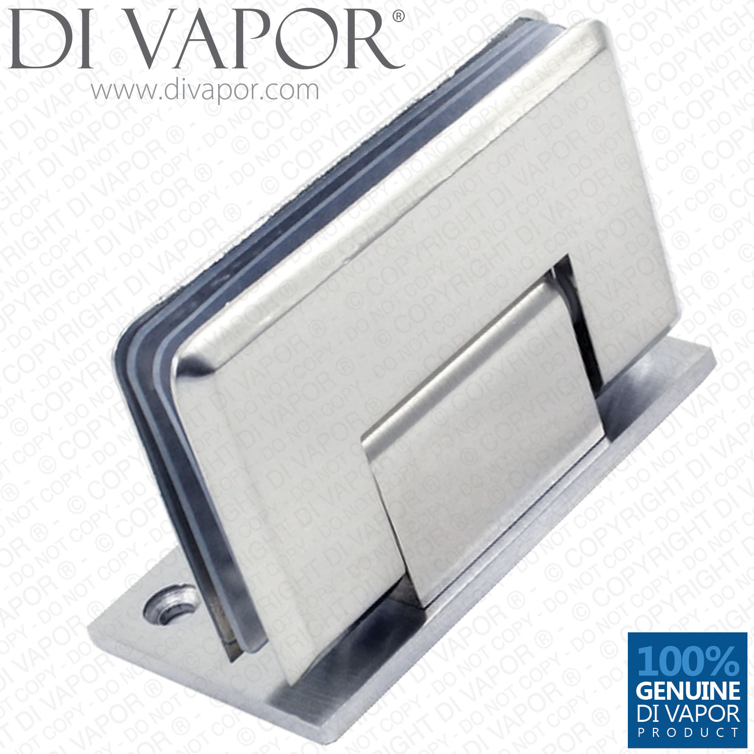 90 Degree Glass Door Hinge Bracket Light Satin Nickel Finish Zinc Alloy Wall eBay