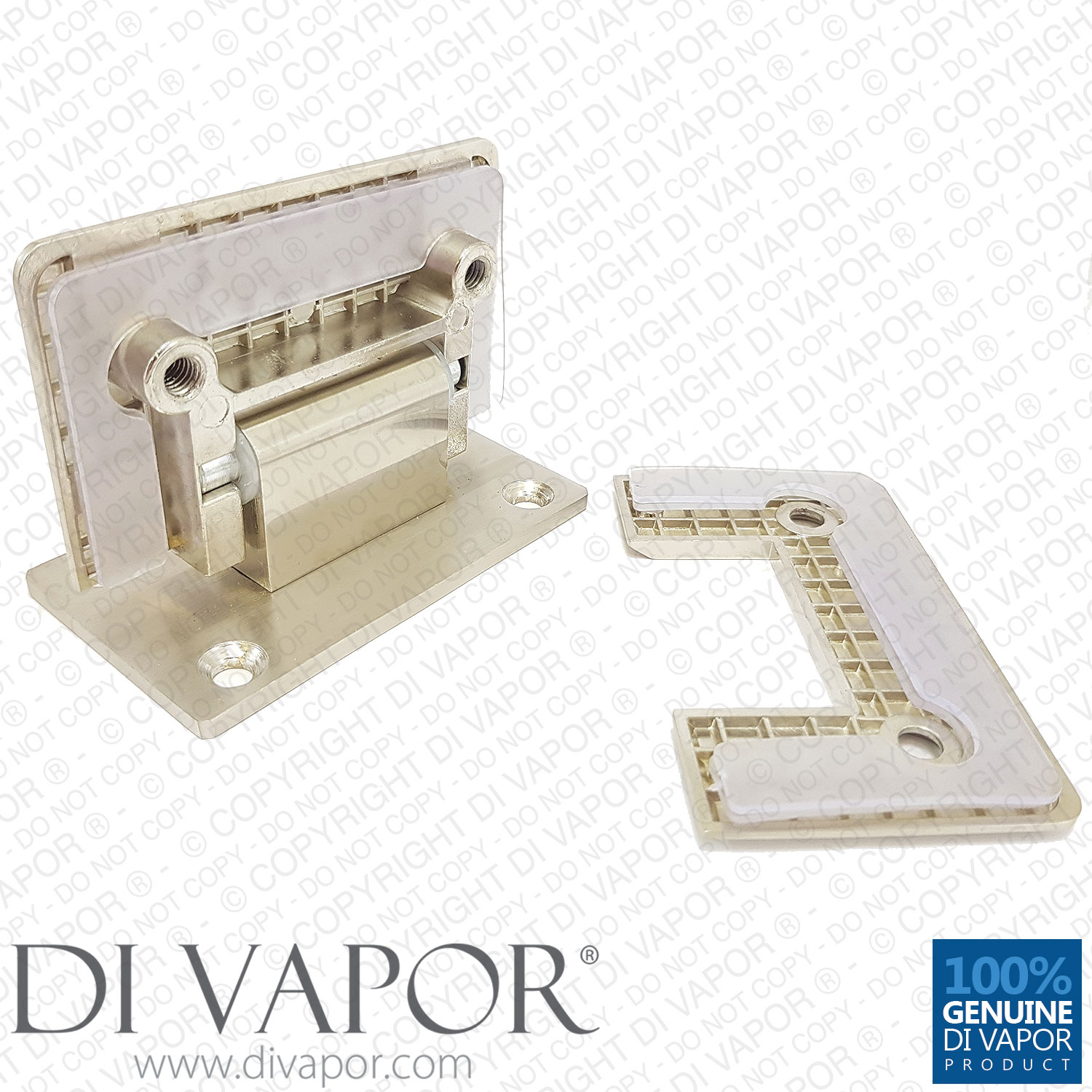 90 Degree Shower Hinge Wall To Glass Door Bracket Light