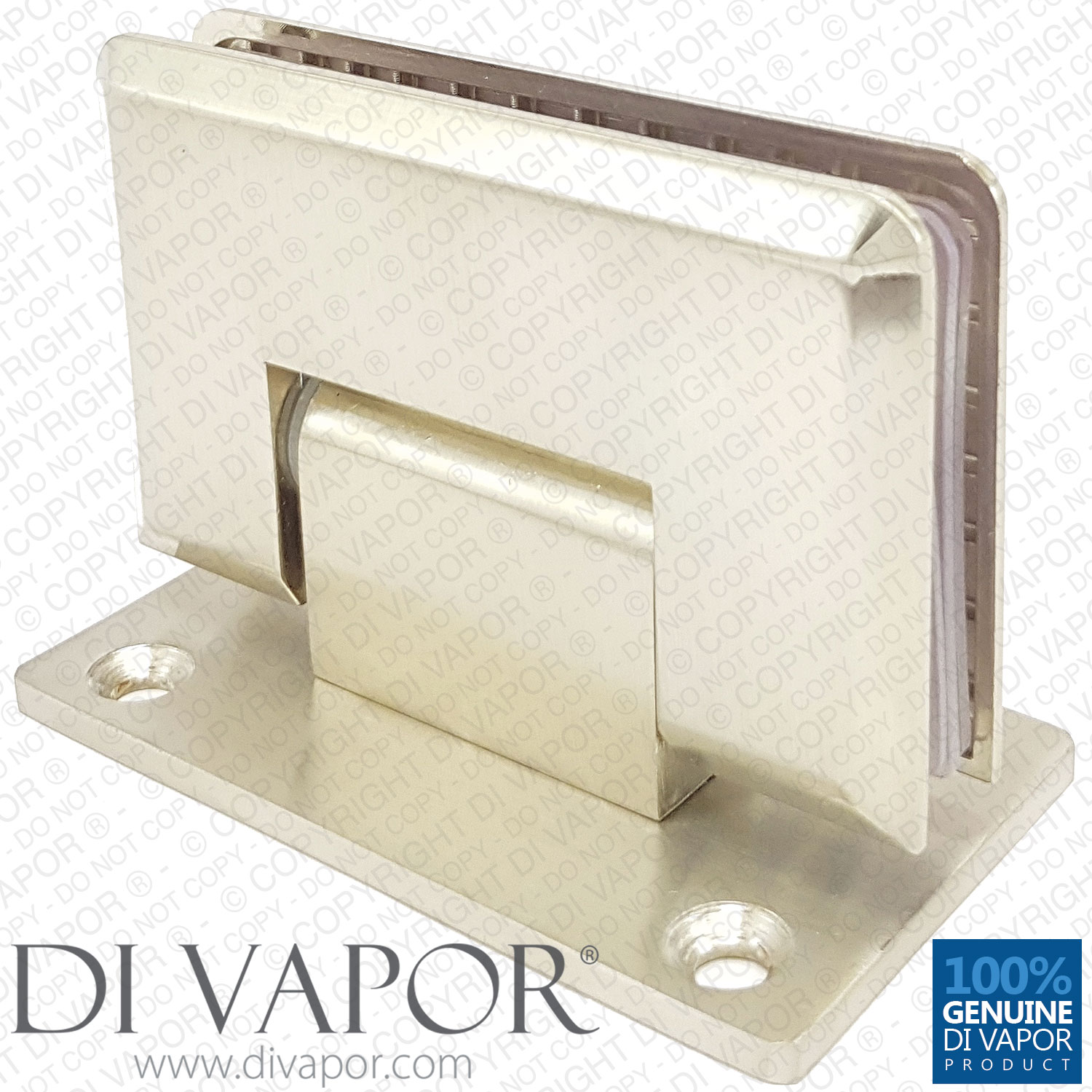 Shower glass door hinges - Double Sided 90 Degree Glass Door Hinge