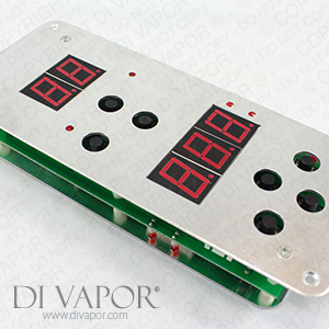 External and Internal Infrared Sauna Control Panel | Compatible with Sunlight Saunas / Sunlighten