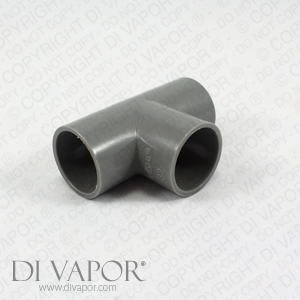 Whirlpool Bath Spa Three Way Pipe Connection - Tee Piece 32mm