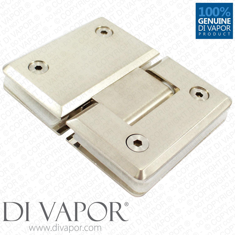 180 degree shower hinge door bracket polished satin for 180 hinge door