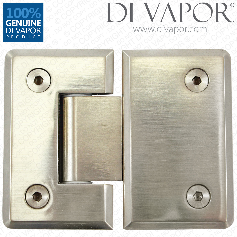 180 degree shower hinge door bracket polished satin for 180 degree door