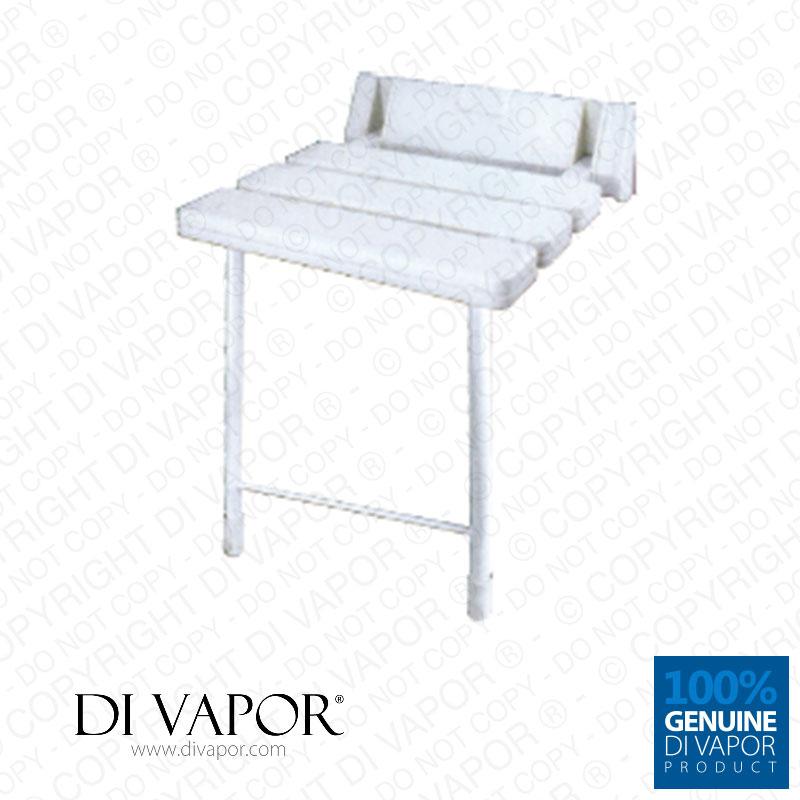 Di Vapor Folding Shower Seat With Legs | ABS Aluminium | Stainless ...