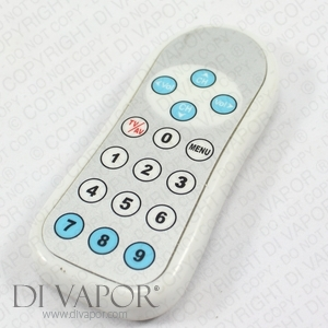 Waterproof Remote Control For Discontinued Cosmo Whirlpool Bath T.V.