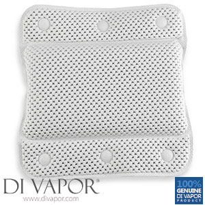 Di Vapor Bath Pillow Memory Foam | Home Spa Pillow with Strong Suction Cups