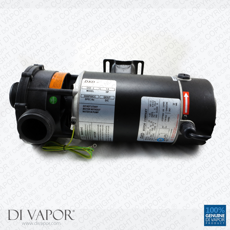 Dxd 2a 110kw 15hp Water Pump For Hot Tub Spa Whirlpool Bath Wiring 220 Volt