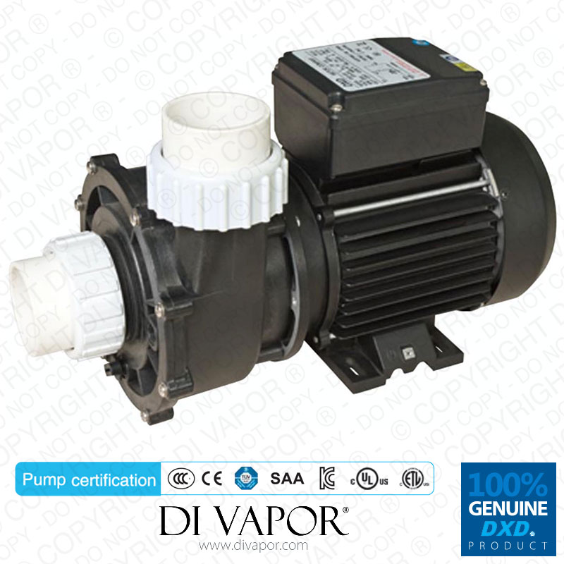 Dxd 320e 2 0hp water pump for hot tub spa for Spa motor and pump