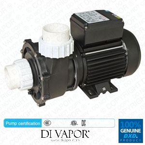 DXD 320ES 1.5kW 2.0HP/0.5HP 2 Speed Pump for Hot Tub | Spa | Whirlpool Bath | Swimming Pools