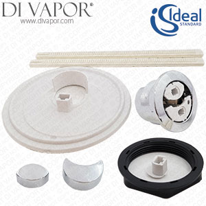 Ideal Standard EV344AA Toilet Cover Flush Button Df Blank