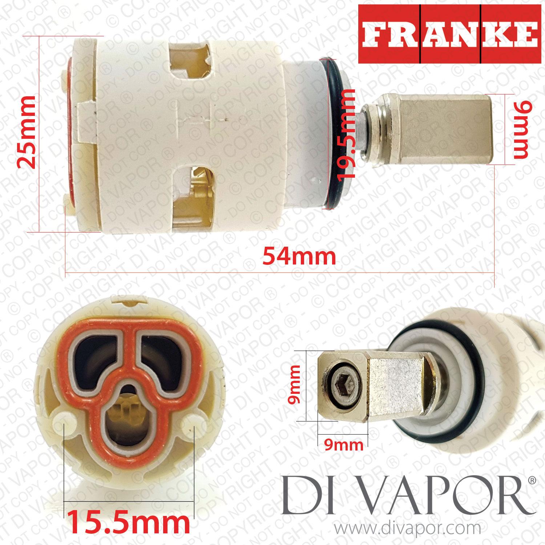 Franke 1950141 25mm Single Lever Mixer Tap Cartridge