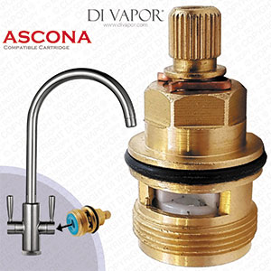 Franke Ascona 3308R-C Tap Valve Cartridge Spare - Cold Side (133.0150.219) - 3308R Compatible Cartri
