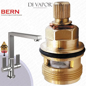 Franke Bern SP3308 Tap Valve Cartridge Spare (133.0358.053) - Hot Side (3749R-H & 3308R-H) - Compatible Cartridge