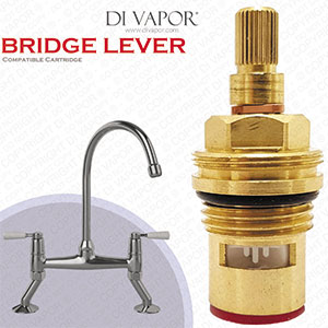 Franke Bridge Valve for Lever Handle Model - 133.0069.365 Compatible Hot Side Kitchen Tap Cartridge