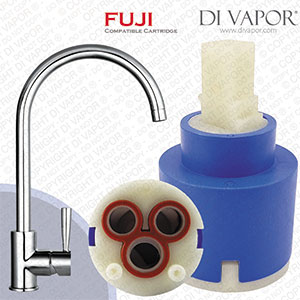Franke Fuji SP1202 35mm Single Lever Kitchen Tap Cartridge - 1202R / 133.0069.360 Compatible Ceramic Cartridge Replacement