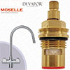 Franke Moselle SP3819-H Kitchen Tap Valve - 20 Teeth Spline - Hot Side - 133.0440.352 & 133.0358.056