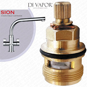 Franke Sion SP3794-C / 3308R-C Cold Valve Tap Cartridge - 133.0358.055 / 133.0150.219 Compatible Kitchen Tap Cartridge