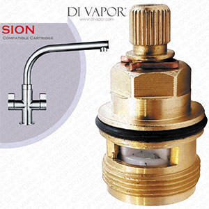 Franke Sion SP3794-H / 3308R-H Hot Valve Tap Cartridge - 133.0358.053 / 133.0150.220 Compatible Kitchen Tap Cartridge