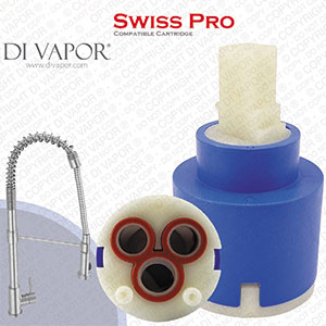 Franke Swiss Pro 35mm Single Lever Kitchen Tap Cartridge - 133.0069.360 / 133.0056.079 Compatible Ceramic Disc Cartridge
