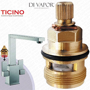 Franke Ticino SP3794-H / 3308R-H Hot Tap Valve Cartridge - 133.0358.053 / 133.0150.220 Compatible Kitchen Tap Cartridge