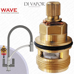 Franke Wave 3794R-H Tap Valve Cartridge - Hot Side (133.0358.053) - SP3308 / SP3794 / 115.0158.976 Compatible Cartridge