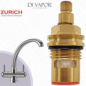 Franke Zurich SP3819-H / 1212R-H / 3819R-H Cold Kitchen Tap Valve - 20 Teeth Spline - 133.0440.352,