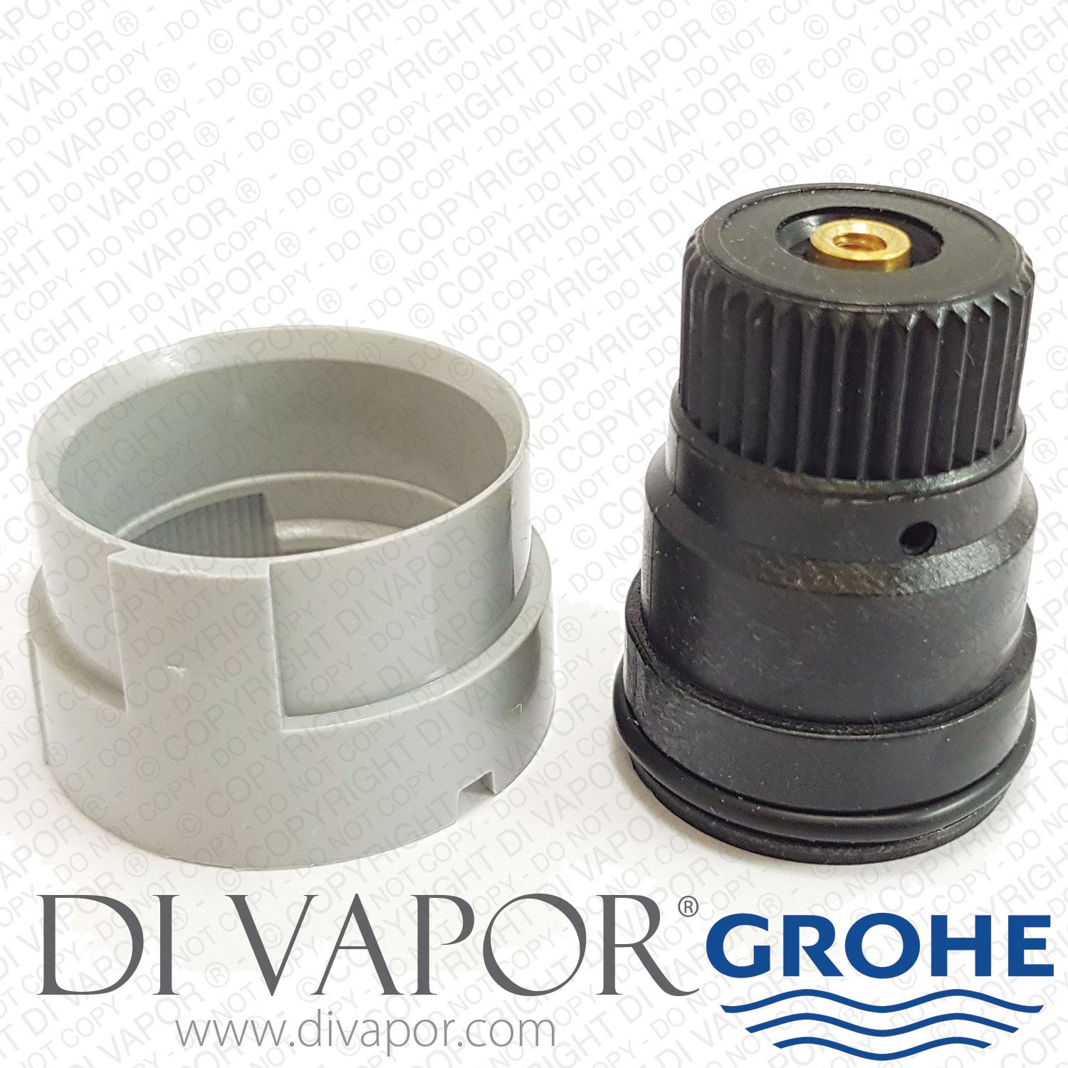 Relativ GROHE 47167000 Stop Ring Auto 2000 Adapter for 4745000 XT86