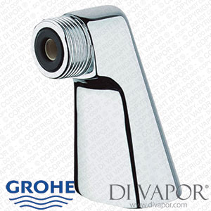 Grohe 12030000 Standing Union Attachment for Eurodisc and Costa Bath Mixer Taps 1/2 Inch x 3/4 Inch