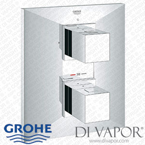 GROHE 19791000 Allure Brilliant Thermostatic Shower Mixer Valve