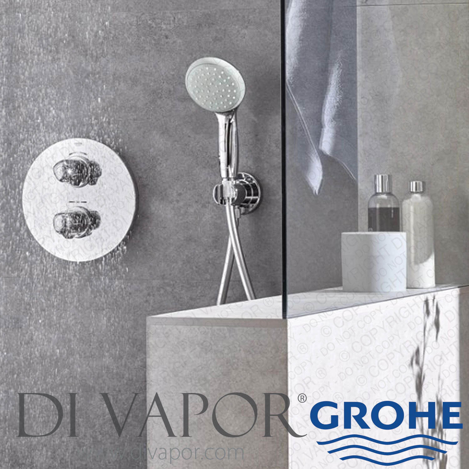 Grohe 27597000 Tempesta 100 Hand Shower With 2 Functions