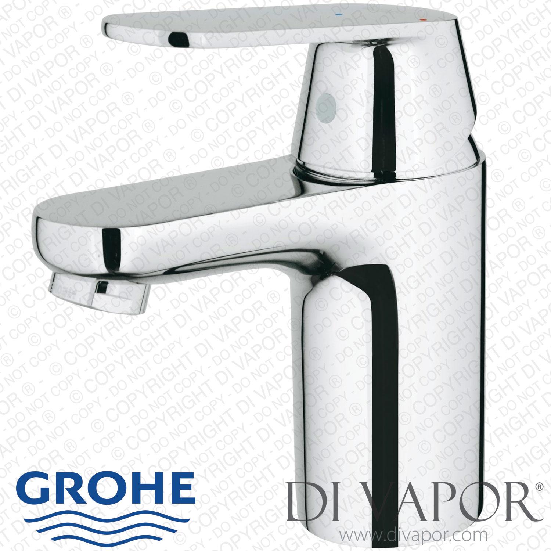 GROHE 32824000 Tap Eurosmart Mono Basin Cosmopolitan Bathroom Mixer