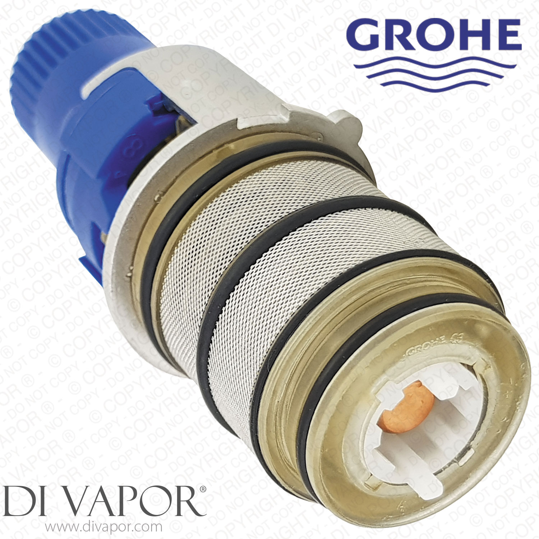 Details Sur Grohe 47175000 1 3cm Inverse Turbostat Thermostatique Cartouche Pour