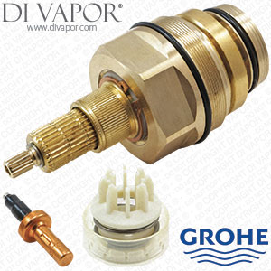 grohe 47598000 thermostatic cartridge with piston and wax element