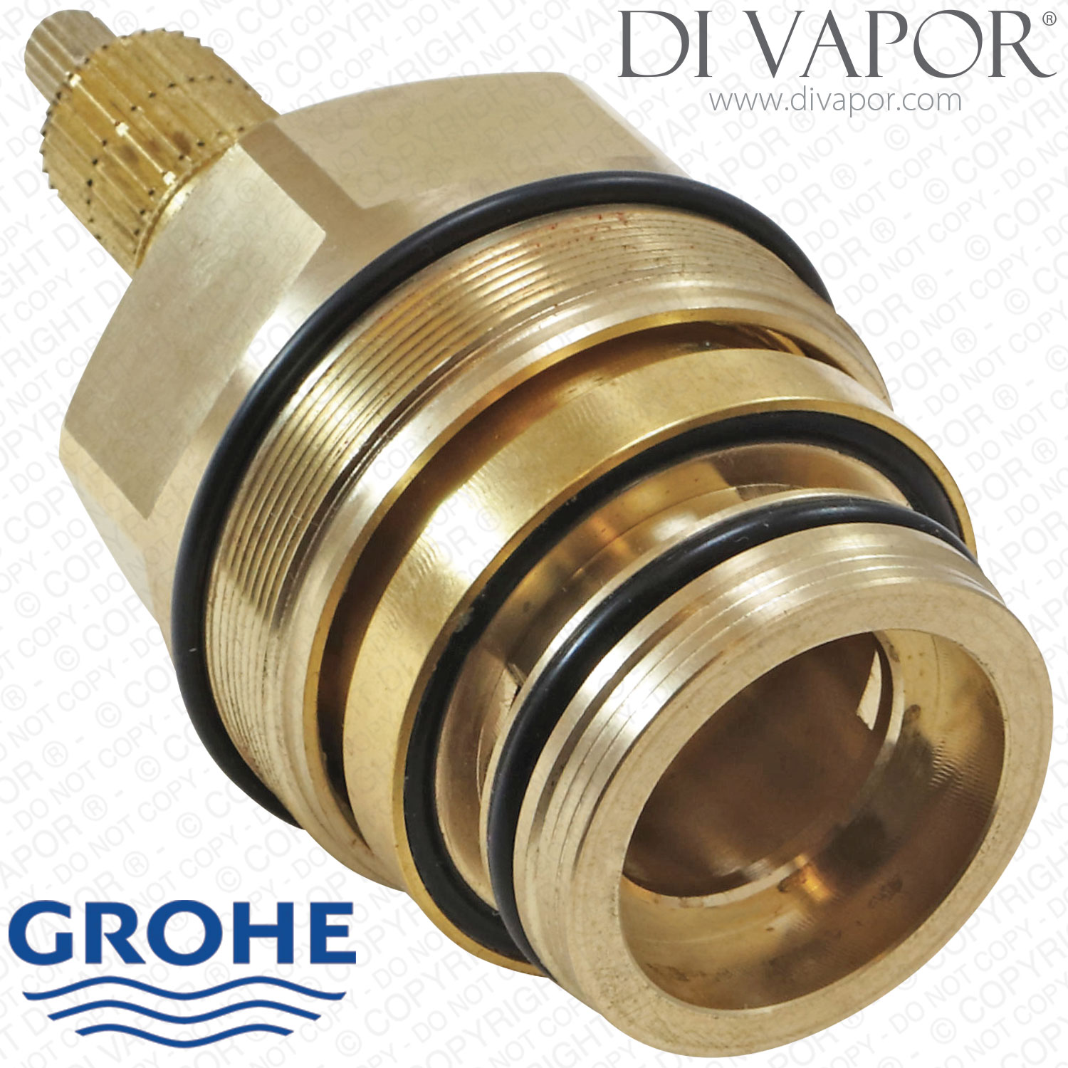 Steam Shower Whirlpool Bath Grohe 47598000 Thermostatic Cartridge With Piston And Wax
