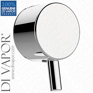 Flow & Temperature Handle For Concealed Shower Valves (20 Spline Handle) - H891-90