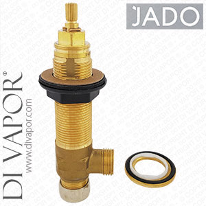 Jado H892653NU On/Off Right Side Deck Mounted Rough in Valve