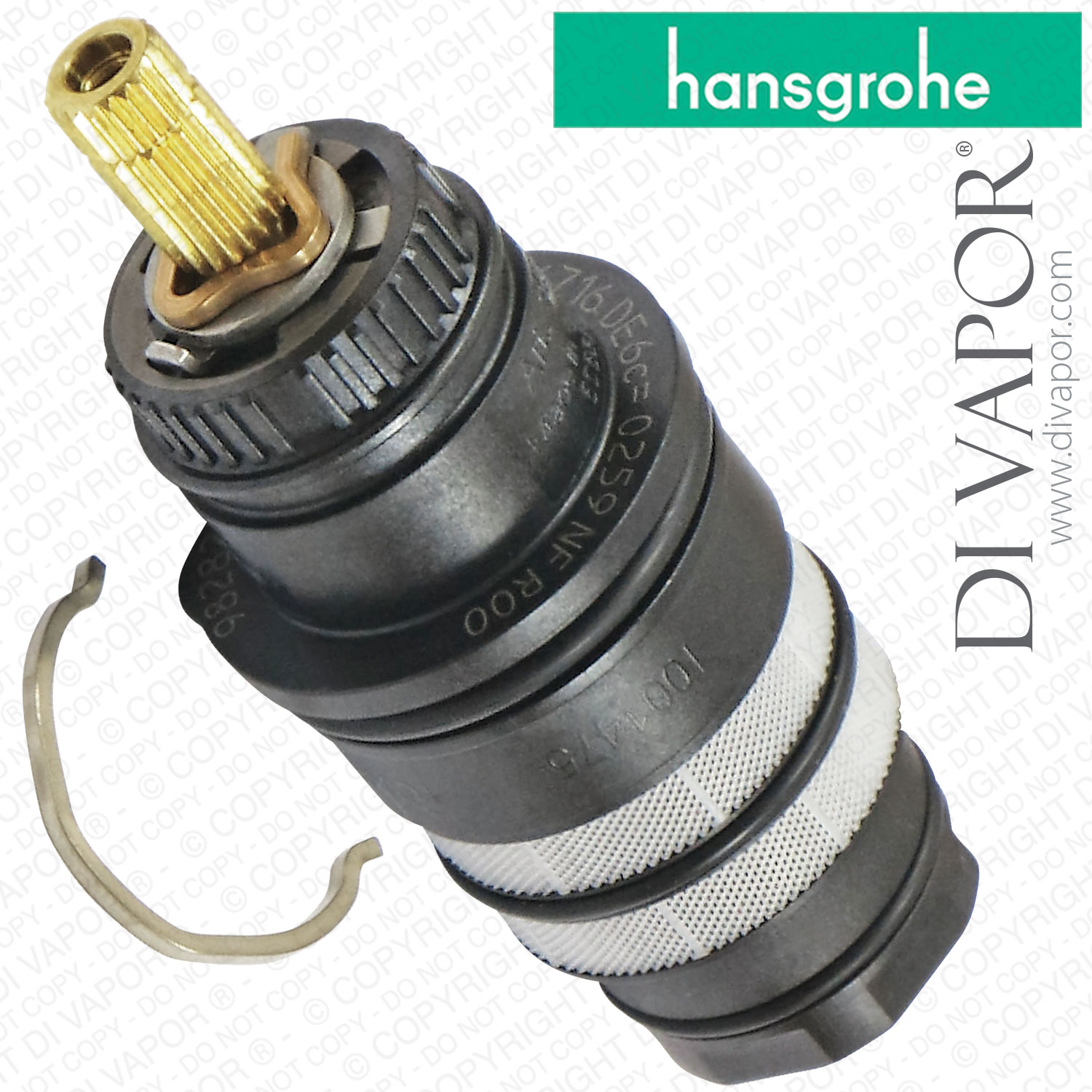 Hansgrohe 98282000 Thermostatic Cartridge for Ecostat, Axor ...