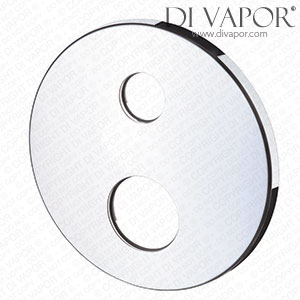 Hansgrohe Axor 95859000 Escutcheon - Round Chrome Faceplate